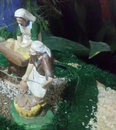 09 Belen de la ermita de San Jose realizado por Chamusca07 373x420 - Galería de imágenes de la III Muestra de belenes de Herencia