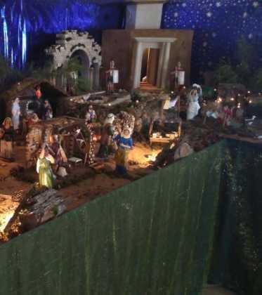 10 Belen de la Gema Gallego de la Sacristana02 373x420 - Galería de imágenes de la III Muestra de belenes de Herencia
