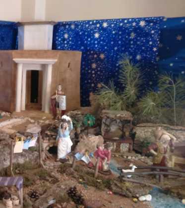 10 Belen de la Gema Gallego de la Sacristana04 373x420 - Galería de imágenes de la III Muestra de belenes de Herencia