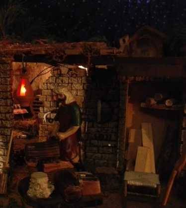 10 Belen de la Gema Gallego de la Sacristana26 374x420 - Galería de imágenes de la III Muestra de belenes de Herencia