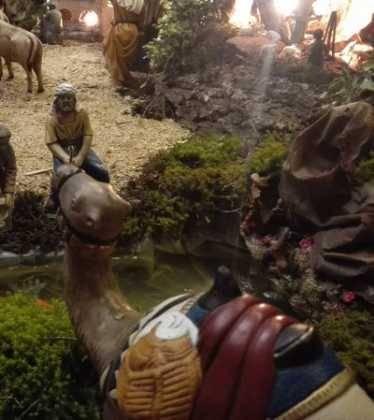 11 Belen de Ascen Diaz01 374x420 - Galería de imágenes de la III Muestra de belenes de Herencia