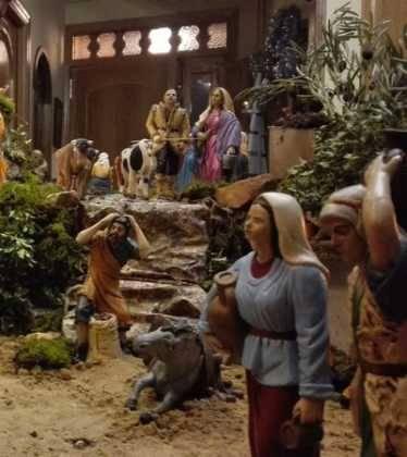 11 Belen de Ascen Diaz12 374x420 - Galería de imágenes de la III Muestra de belenes de Herencia