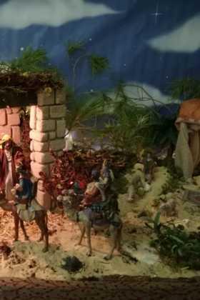 12 Belen de la ermita de la Encarnacion Inmaculada Moraleda01 280x420 - Galería de imágenes de la III Muestra de belenes de Herencia