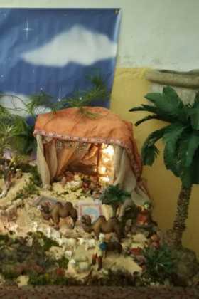 12 Belen de la ermita de la Encarnacion Inmaculada Moraleda02 280x420 - Galería de imágenes de la III Muestra de belenes de Herencia