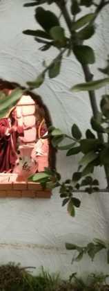 12 Belen de la ermita de la Encarnacion Inmaculada Moraleda03 158x420 - Galería de imágenes de la III Muestra de belenes de Herencia