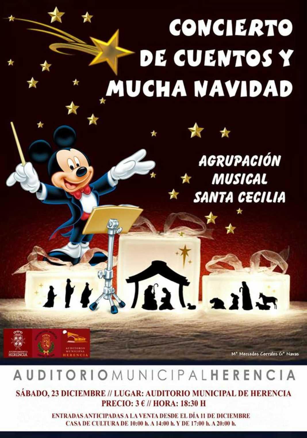 Concierto de Navidad de la agrupación Musical Santa Cecilia herencia 2017 1068x1526 - Concierto de cuentos y Navidad de la agrupación Musical Santa Cecilia