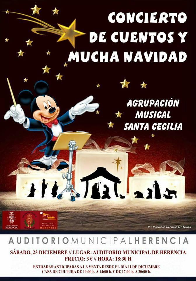 Concierto de Navidad de la agrupación Musical Santa Cecilia herencia 2017 - Concierto de cuentos y Navidad de la agrupación Musical Santa Cecilia