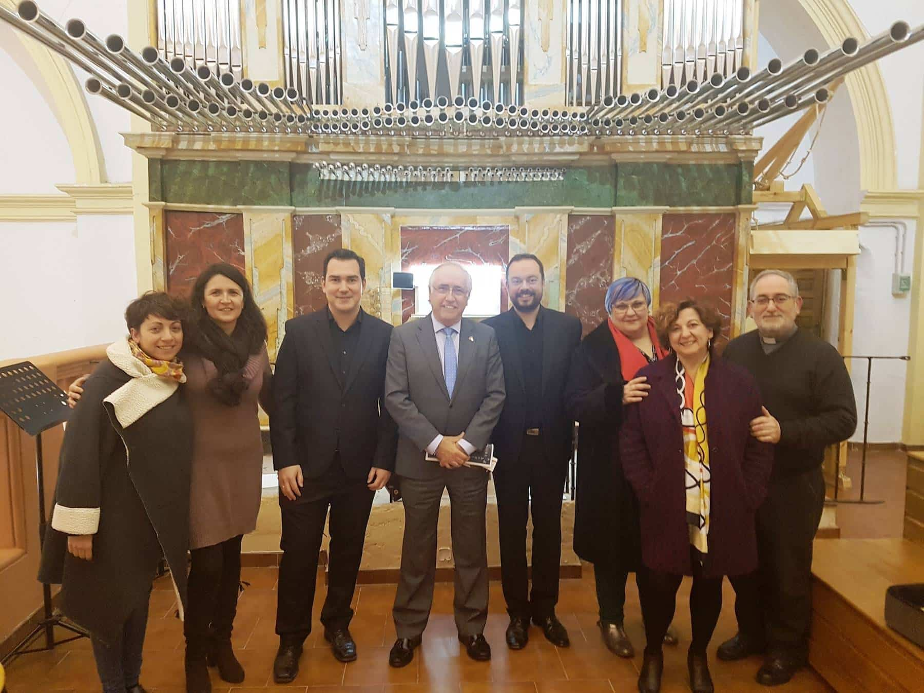 Herencia acogió uno de los conciertos de la IV Ruta de los Órganos Históricos de Castilla-La Mancha que organiza el Gobierno regional