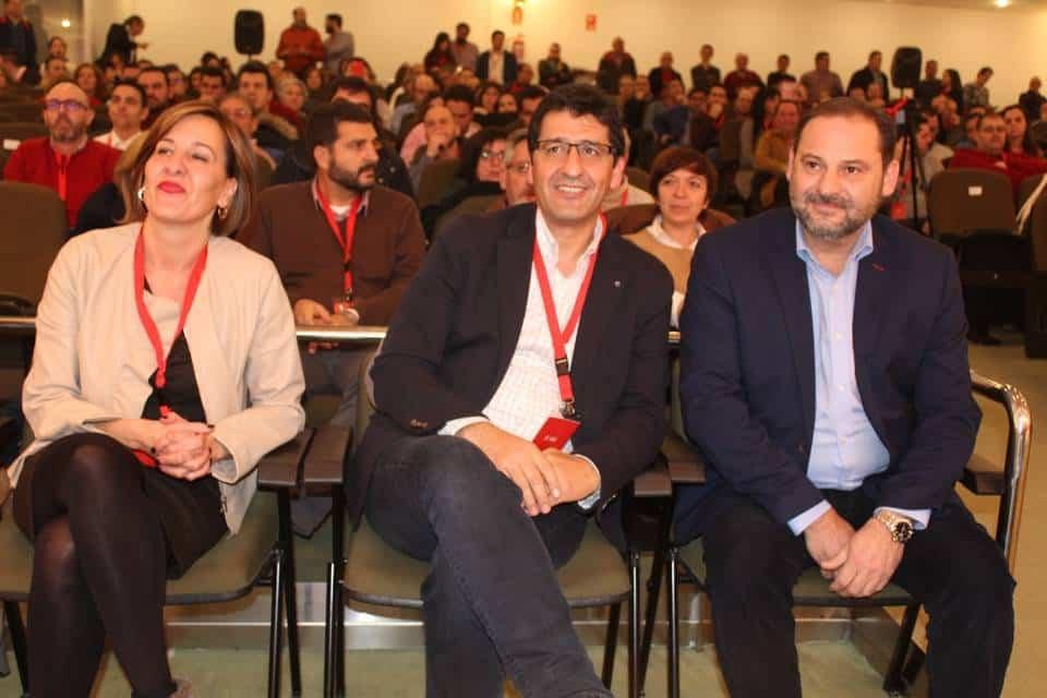 JM CABALLERO  17 CONGRESO PROVINCIAL 3 - Jose Manuel Bolaños nuevo secretario de organización del PSOE provincial