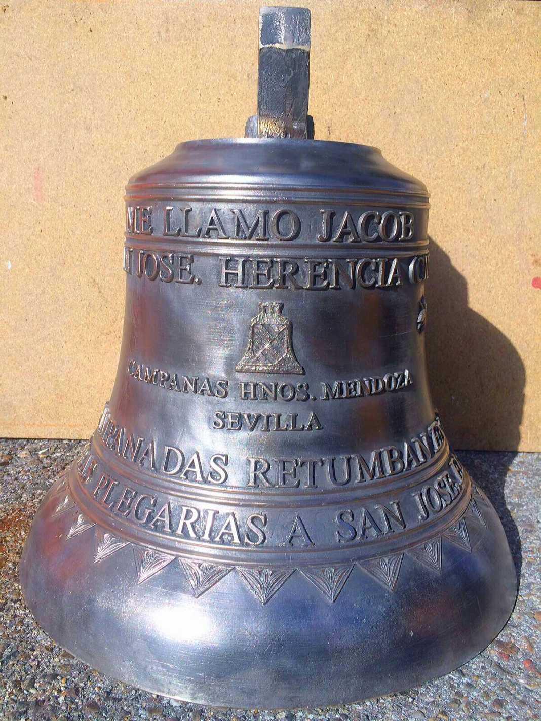 Nueva campana de san Jose de Herencia 1068x1424 - Nueva campana para la ermita de San José