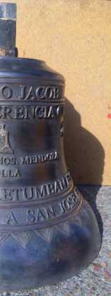 Nueva campana de san Jose de Herencia 158x420 - Nueva campana para la ermita de San José
