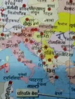 españa desde el nepal 317x420 - Perlé vive la Navidad en Phokara