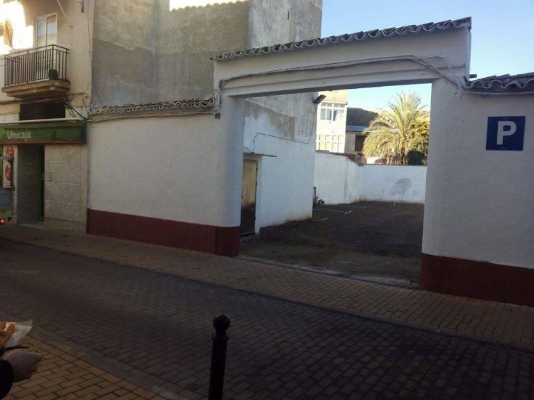 nuevo aparcamiento de la travesia concepion de herencia - Abierto el nuevo aparcamiento público de la Travesía Concepción