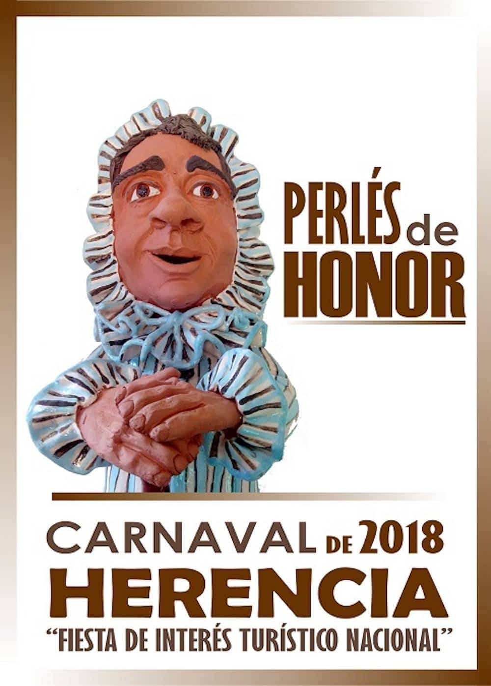 perles de honor 2018 - Conoce a los nominados para los Perlés de Honor del Carnaval de Herencia