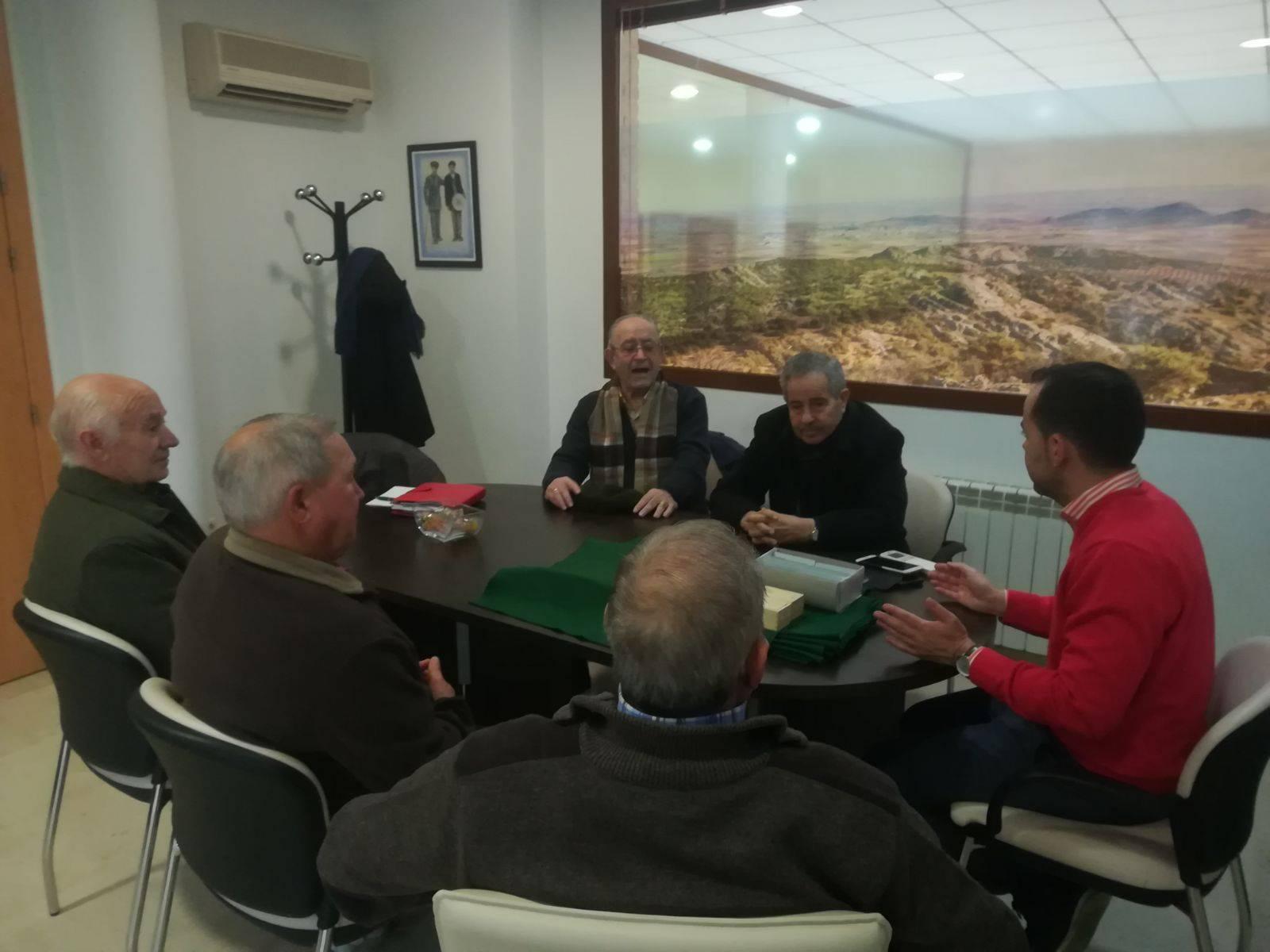reunion consejo mayores herencia 2 - El Consejo de Mayores se reúne para analizar 2017 hablar de 2018