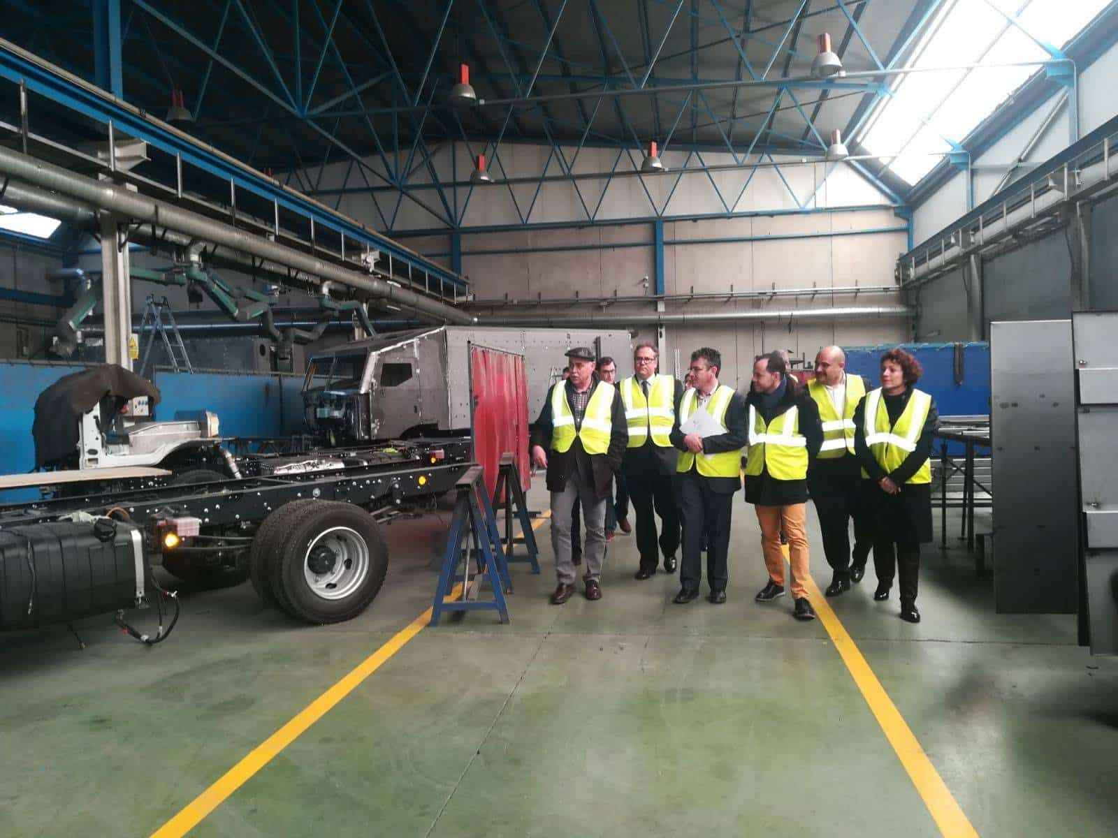 tsi diviseguro proyecto CREA - Director General de Empleo visitó TSD-DIVISEGUR en Herencia