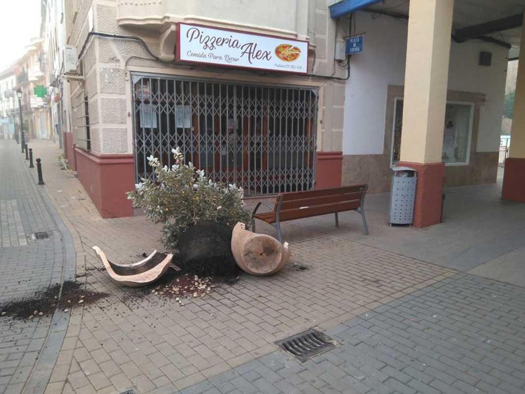 Vandalismo en Herencia antes de nochevieja 10