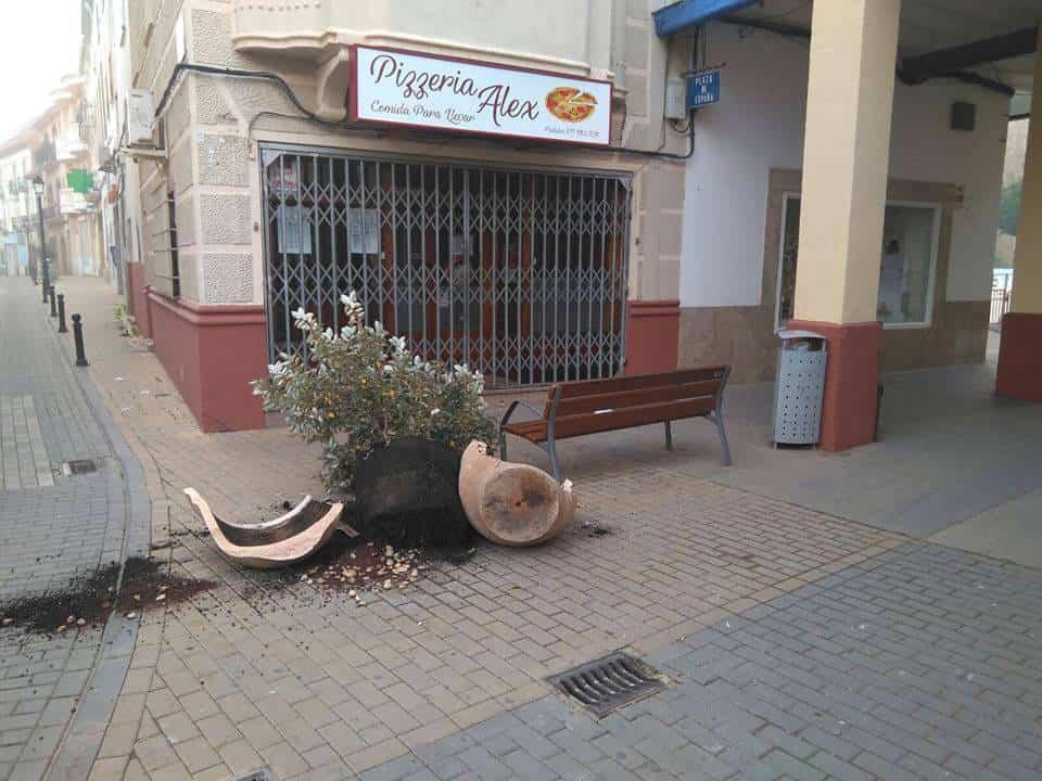Vandalismo en Herencia antes de nochevieja 7