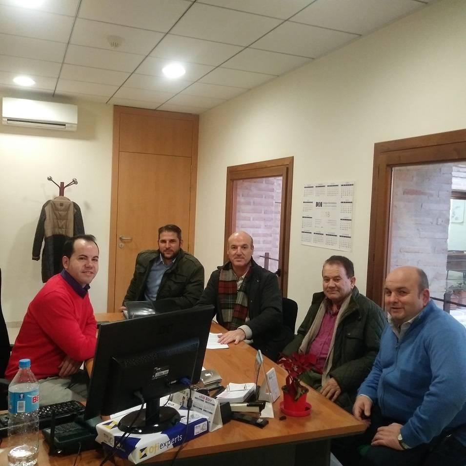 El Ayuntamiento cede una oficina a la Comunidad de Usuarios de la Masa de Agua Subterránea Mancha Occidental I 3