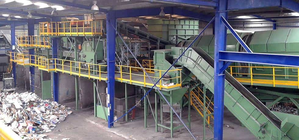 Planta de tratamiento de residuos - Comsermancha gestionó 72.218 toneladas de RSU en su planta de transformación durante 2017