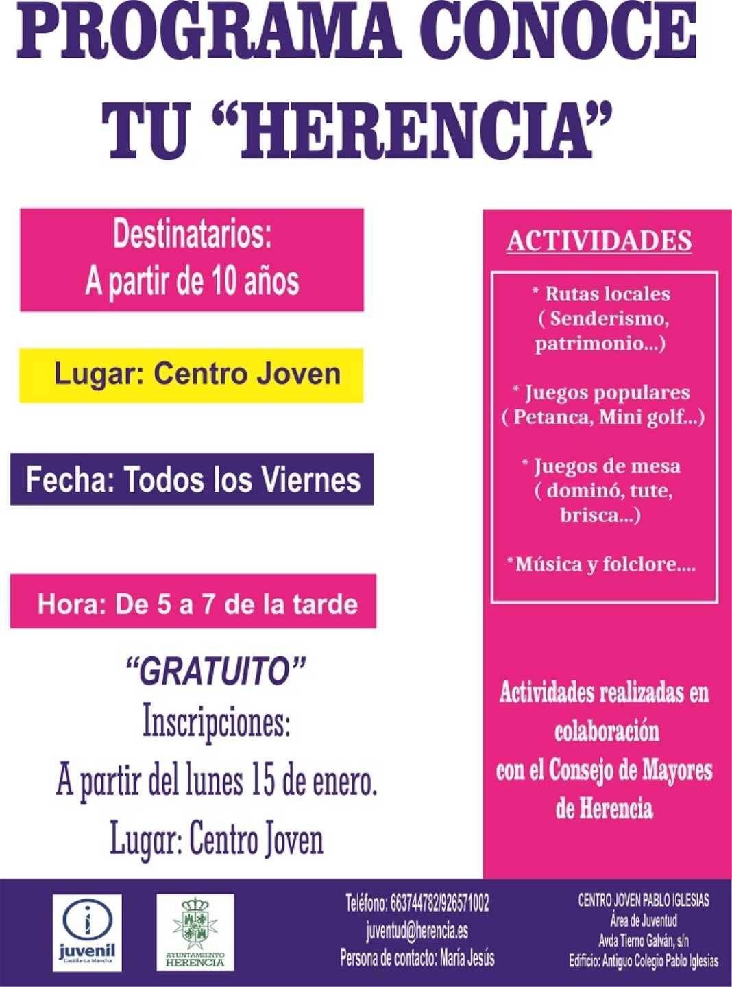 """En marcha el programa """"Conoce tu Herencia"""" 4"""
