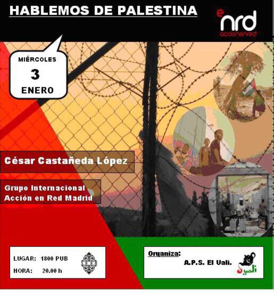 Encuentro para conocer la situación de Palestina 4
