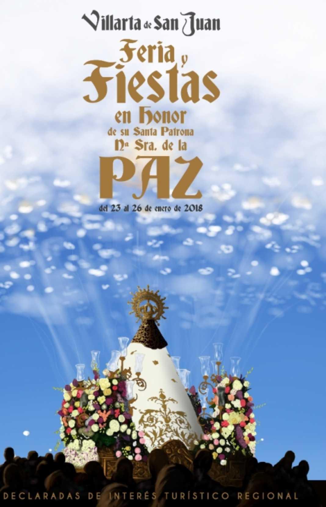 Santiago González-Román pone imagen al cartel anunciador de Las Paces 2018 4