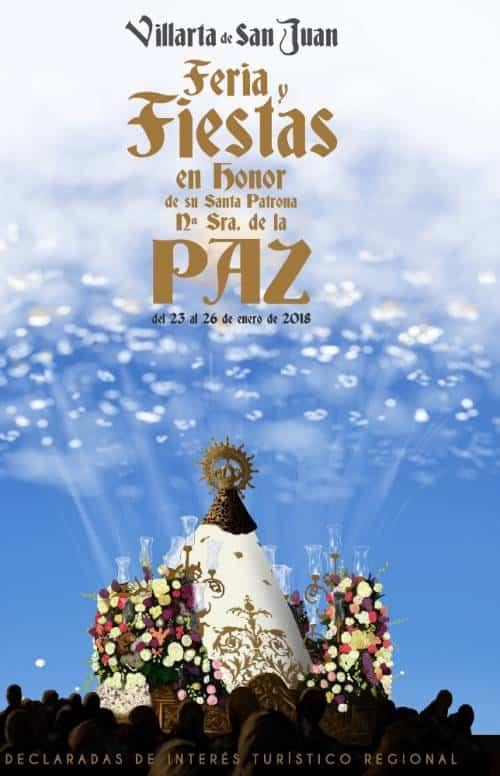 cartel anunciador de Las Pacer 2018 realizado por Santiago Gonzalez Roman - Santiago González-Román pone imagen al cartel anunciador de Las Paces 2018