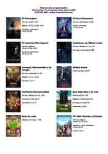 Cartelera Cinemancha del 12 al 18 de enero 1