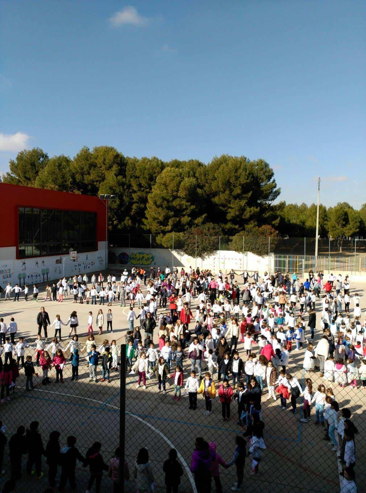 dia escola paz 2018 carrasco alcalde 2 - Día Escolar de la Paz 2018 en CEIP Carrasco Alcalde