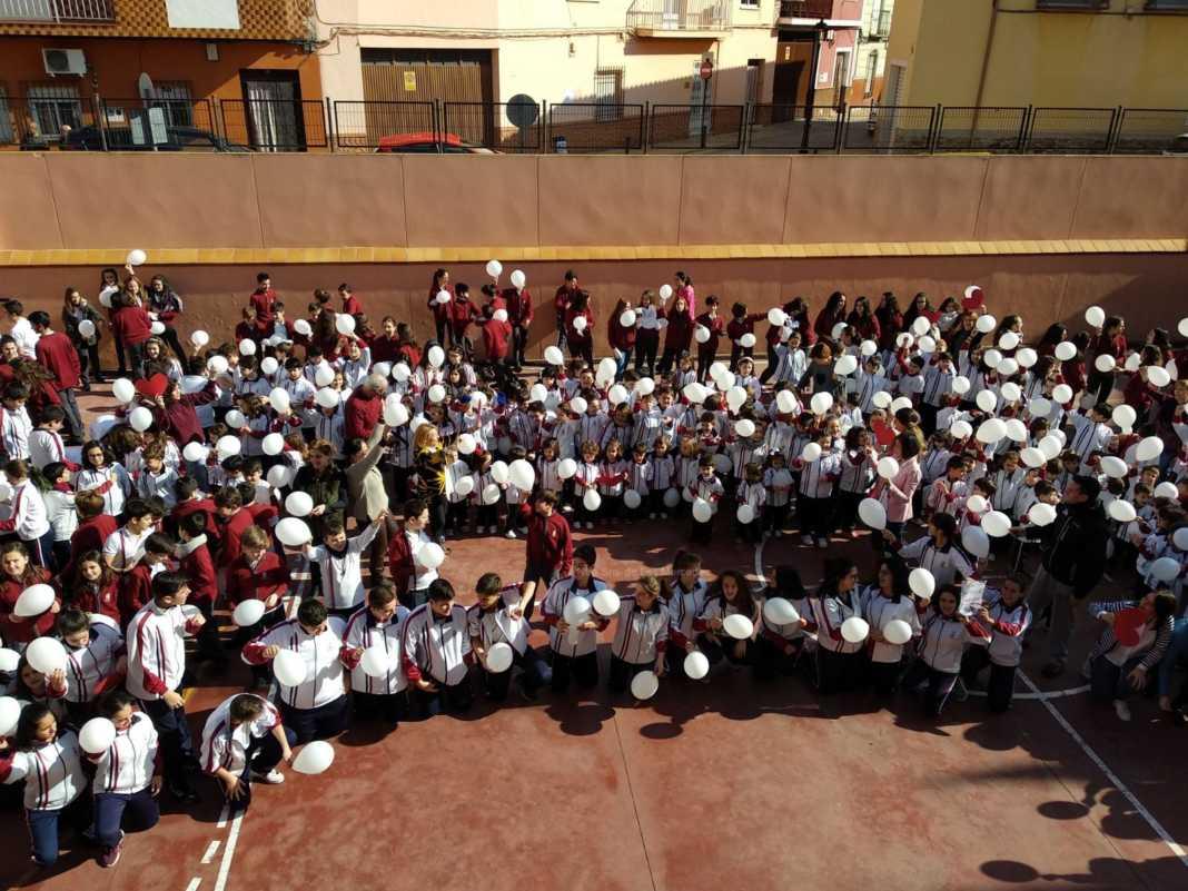 dia escolar paz colegio las mercedes herencia 1a 1068x801 - Día Escolar de la Paz 2018 en Ntra. Sra. de Las Mercedes