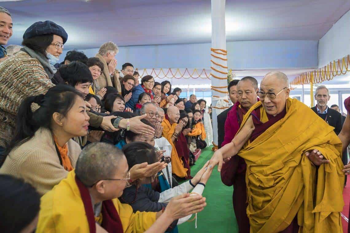 el dalai lama - Perlé y su movidito Año Nuevo: del Dalai Lama, de un robo y de otras inolvidables historias