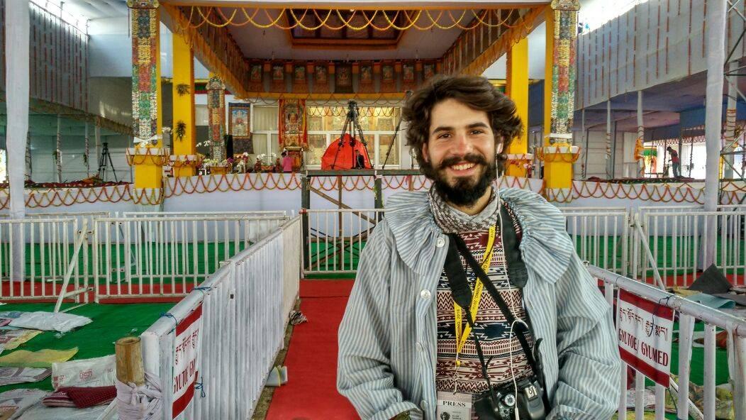 elias Escribano Perle por el mundo y su movido comienzo de año6 - Perlé y su movidito Año Nuevo: del Dalai Lama, de un robo y de otras inolvidables historias