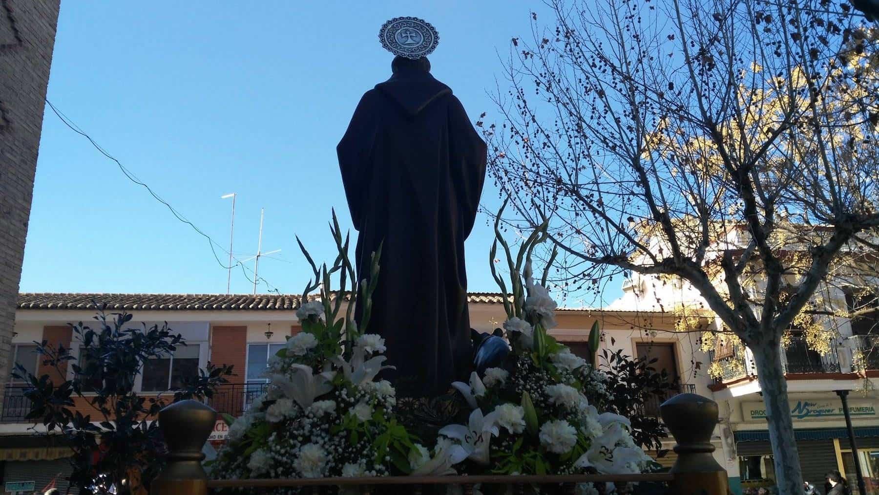 Herencia celebró la festividad de San Antón con su tradicional hoguera 9