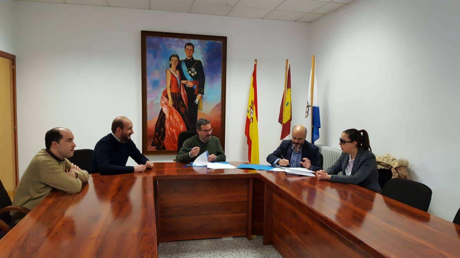 firma con ilunion - La web de Mancha Norte será accesible