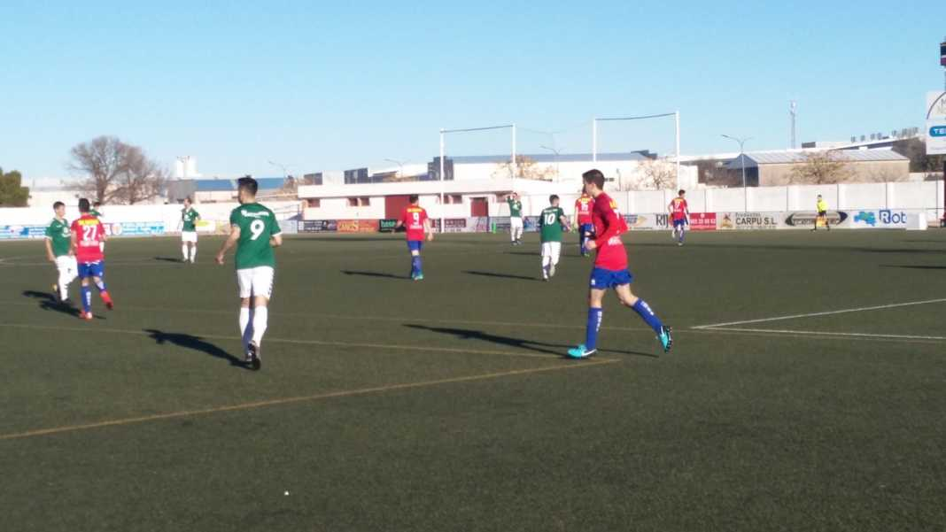 herencia aldea futbol 1068x601 - C.D.B Herencia venció 3-0 al Aldea en el Fernández de la Puebla