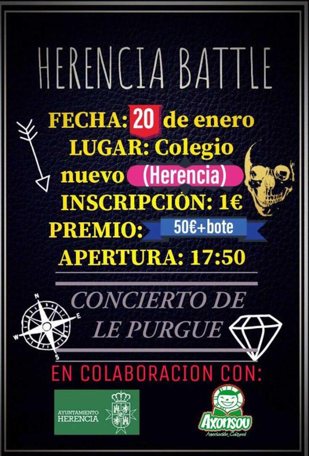 """herencia battle 1068x1575 - Axonsou organiza una """"pelea de gallos"""" en Herencia"""
