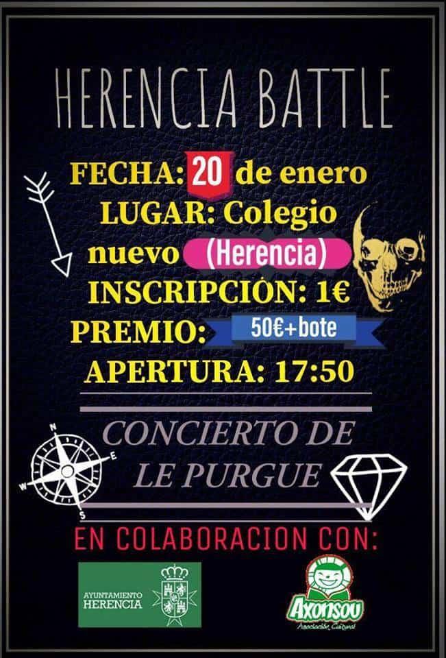 """herencia battle - Axonsou organiza una """"pelea de gallos"""" en Herencia"""