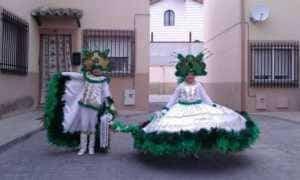 jinetas carnaval herencia fotos 10 300x180 - Las Jinetas, símbolo fundamental del Carnaval de Herencia