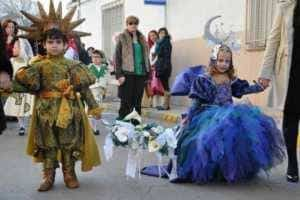 jinetas carnaval herencia fotos 6 300x200 - Las Jinetas, símbolo fundamental del Carnaval de Herencia