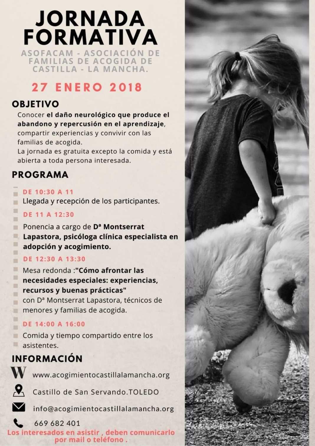 jornada formativa de FAMILIAS DE ACOGIDA DE CASTILLA LA MANCHA 1068x1511 - Jornada formativa para familias de acogida en Castilla-La Mancha