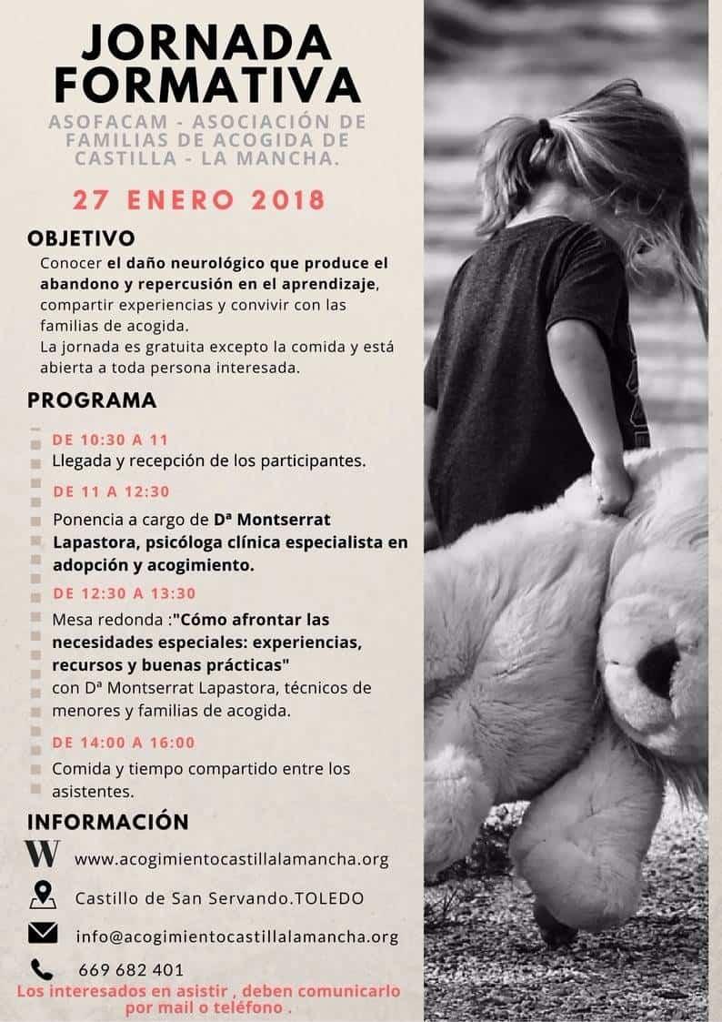 Jornada formativa para familias de acogida en Castilla-La Mancha 3