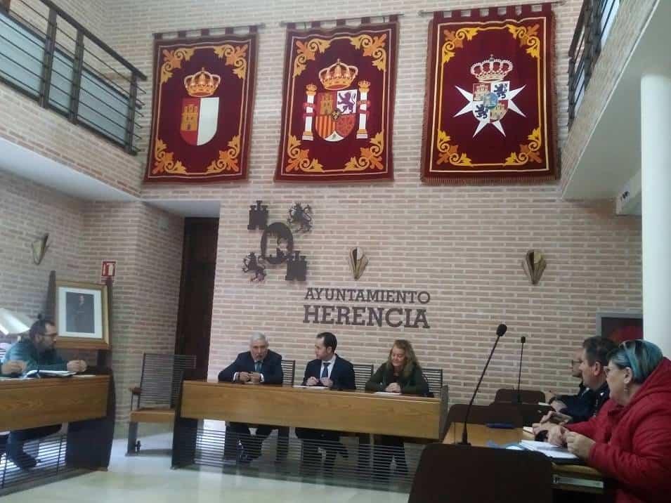 Reunión de Junta de Seguridad de Herencia