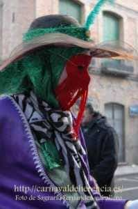 "mascara callejera carnaval herencia 11 199x300 - La ""máscara callejera"" del Carnaval de Herencia"