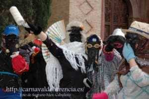 """La """"máscara callejera"""" del Carnaval de Herencia 11"""