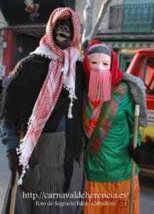 "mascara callejera carnaval herencia 4 216x300 - La ""máscara callejera"" del Carnaval de Herencia"
