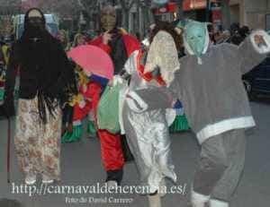 """La """"máscara callejera"""" del Carnaval de Herencia 2"""