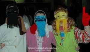 "mascara callejera carnaval herencia 8 300x175 - La ""máscara callejera"" del Carnaval de Herencia"