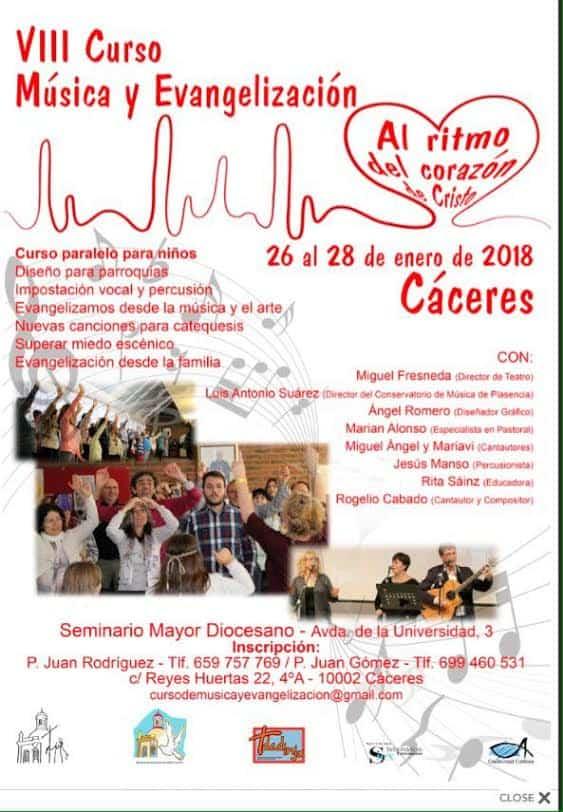 musica religiosa Caceres - Miguel y Mariavi impartirán un taller sobre la familia en Cáceres