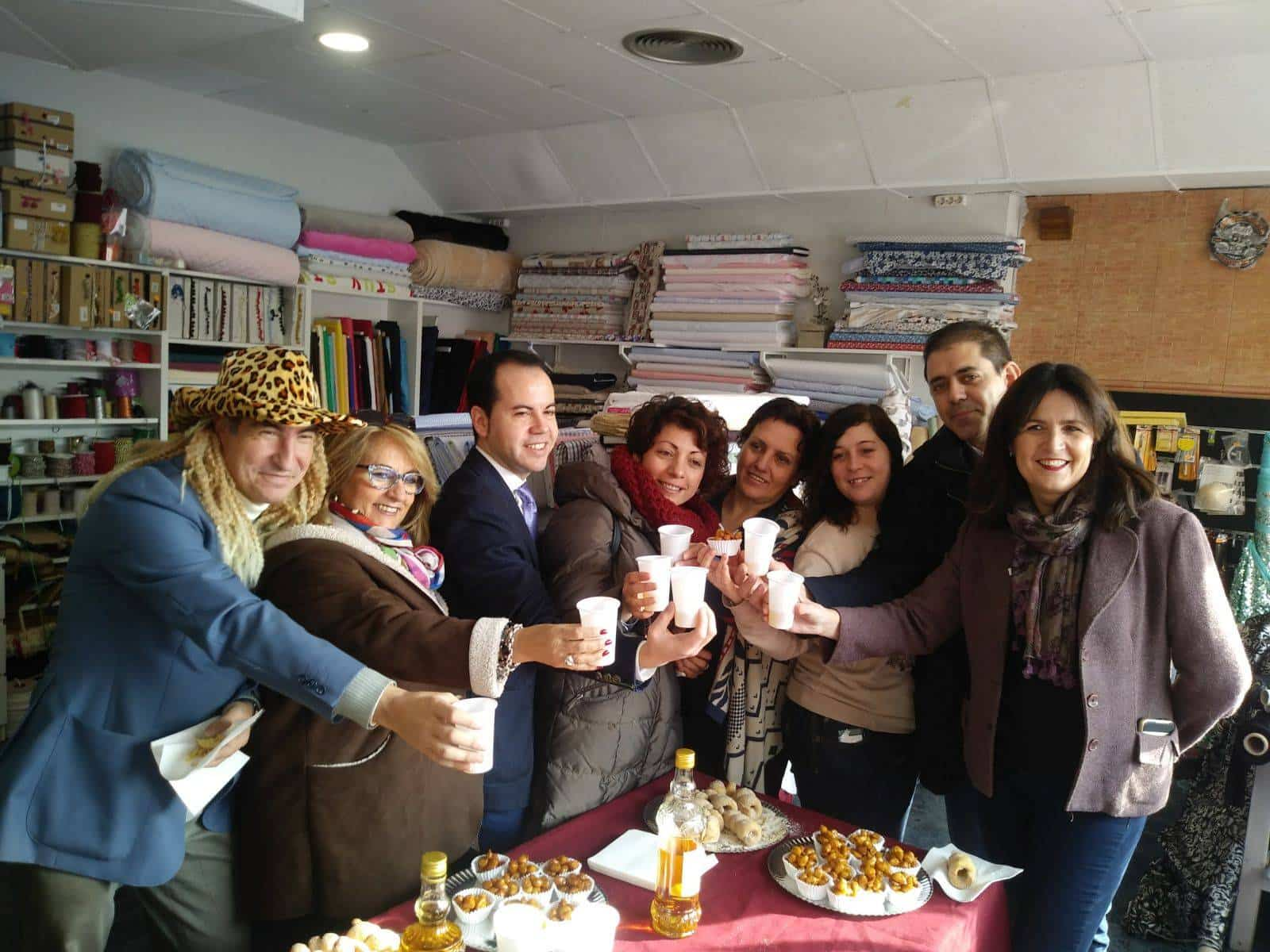 Autoridades Presentación de pregonero de Carnaval de Herencia